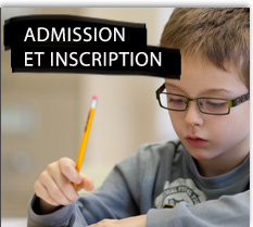 Admission et inscription